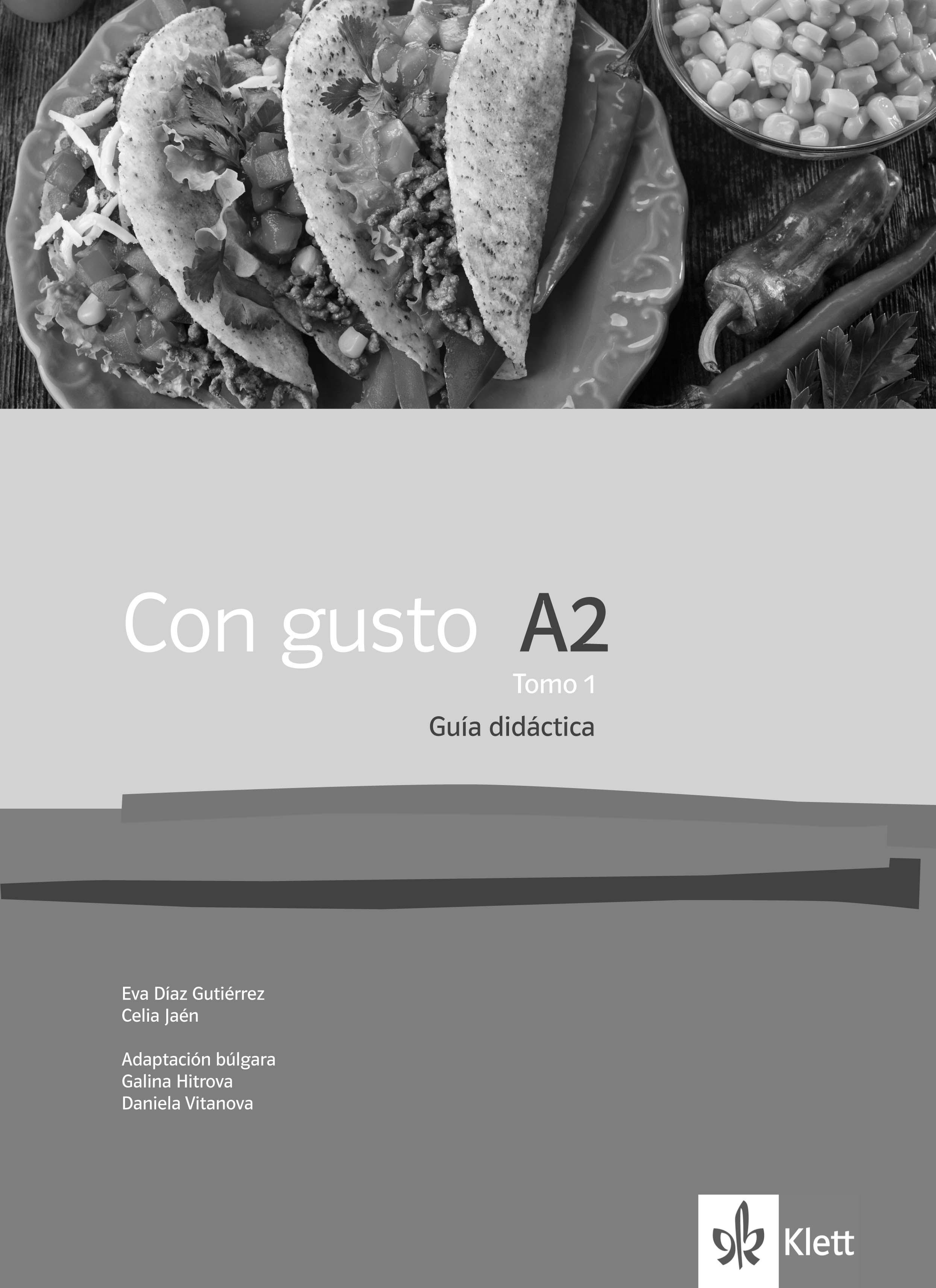 Con gusto A2.1 Guia didactica