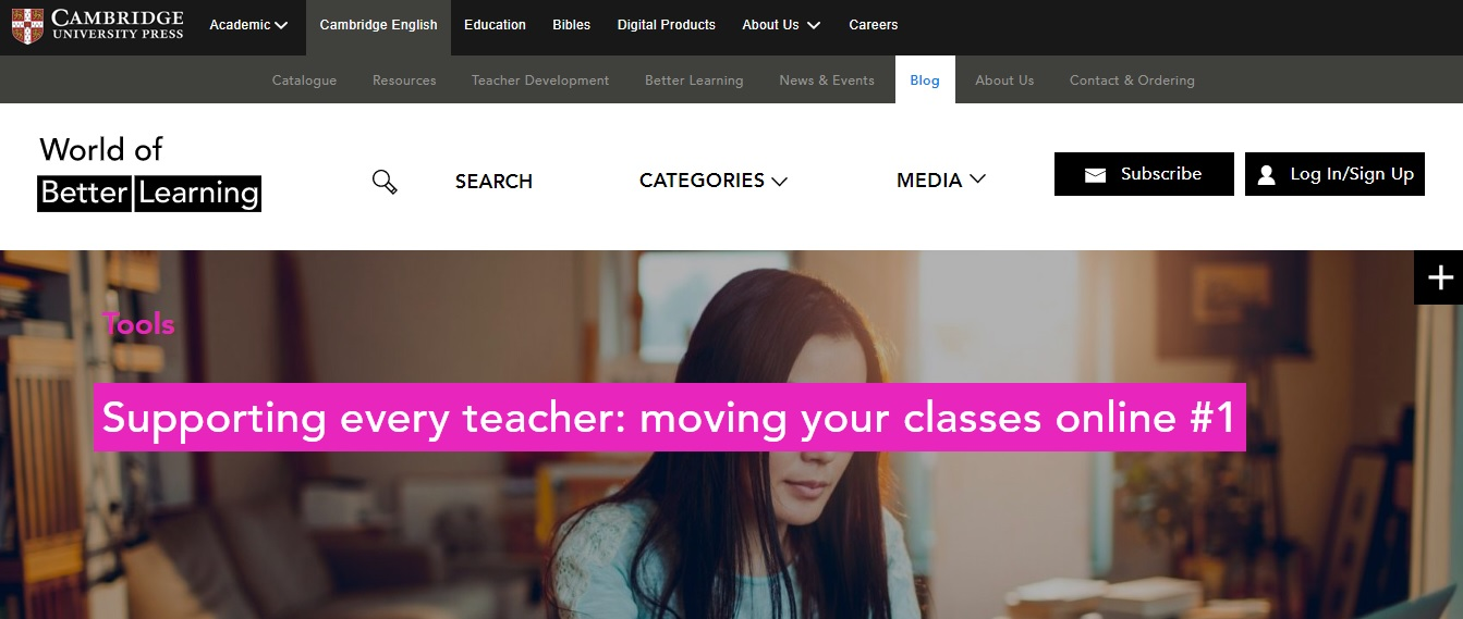 Supporting every teacher: Moving your classes online #1