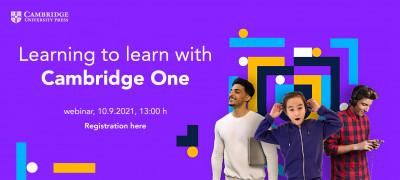 Уебинар на тема: Learning to learn with Cambridge One